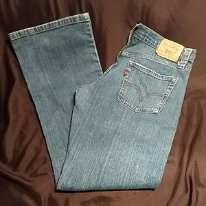 Levi's 513 7M button fly